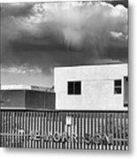 Morrison Cloud Bw Palm Springs Metal Print