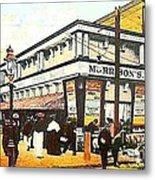 Morrison's Theatre In Rockaway Beach Queens N Y 1912 Metal Print