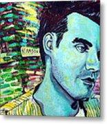 Morrissey Metal Print by Kat Richey