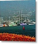 Morro Bay At A Distance Metal Print