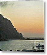 Morro Bay Sunset Metal Print