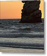 Morro Beach Sunset Metal Print