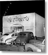 Mortimers Dining  Dancing Marina California  Circa 1948 Metal Print