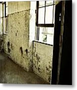 Morton Hotel Interior Metal Print