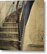 Morton Hotel Stairway Metal Print