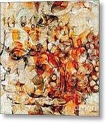 Mosaic 0259 Marucii Metal Print