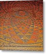 Mosaic Floor In Bergama Museum-turkey Metal Print