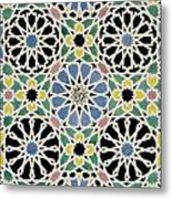 Mosaic Pavement In The Dressing Room Of The Sultana Metal Print