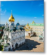 Moscow Kremlin Tour - 34 Of 70 Metal Print