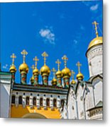 Moscow Kremlin Tour - 42 Of 70 Metal Print