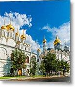 Moscow Kremlin Tour - 57 Of 70 Metal Print