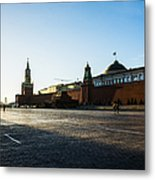 Moscow Red Square From North-west To South-east Metal Print