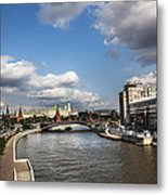 Moscow River - Russia Metal Print