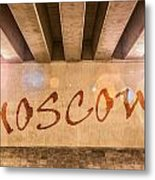 Moscow Metal Print