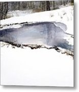 Moses On Ice Metal Print