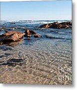 Moses Rock Beach 04 Metal Print