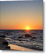 Moshup Beach Sunrise Metal Print