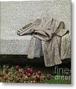 Mosiac Bench Metal Print