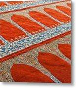 Mosque Carpet Metal Print