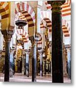 Mosque Cathedral Of Cordoba  Metal Print