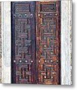 Mosque Doors 01 Metal Print