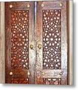 Mosque Doors 03 Metal Print