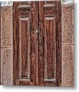 Mosque Doors 08 Metal Print