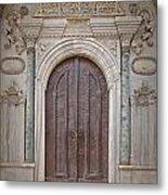 Mosque Doors 13 Metal Print