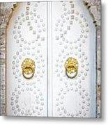 Mosque Doors 14 Metal Print