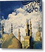 Mosque-madrassa Of Sultan Hassan Metal Print
