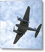 Mosquito On Final Approach Metal Print