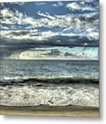 Moss Landing In The Clouds Metal Print