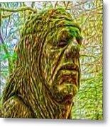 Moss Man - 02 Metal Print