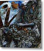 Moss Veils And Illuminated  Metal Print