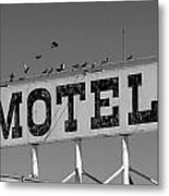 Motel For The Birds Metal Print