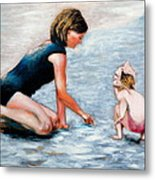 Mother And Child 1 Metal Print