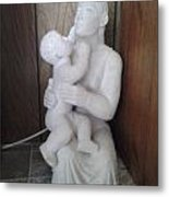 Mother And Son Metal Print