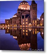 Mother Church Boston Metal Print