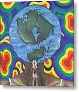 Mother Earth The Beginning Of Time Metal Print
