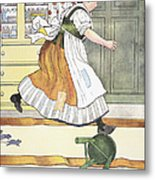 Mother Goose, 1916 Metal Print