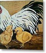 Mother Hen Metal Print