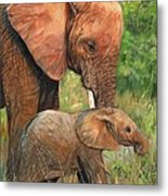 Mother Love 2 Metal Print