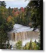 Mother Nature's Canvas Metal Print