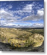 Mother Nature's Hole Metal Print