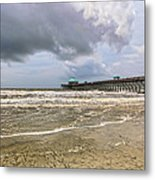 Mother Nature's Wrath Metal Print