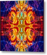 Mother Of Eternity Abstract Living Artwork Metal Print