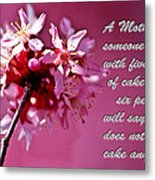 Mother's Day Sharing Metal Print