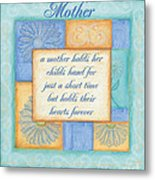 Mother's Day Spa Card Metal Print