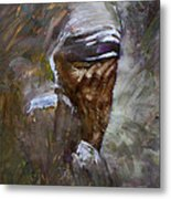 Mother's Pain Metal Print