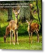 Mother's Protection Metal Print